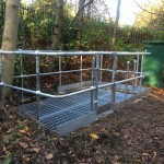 Open Mesh Decking & Handrail