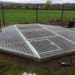Decking Well Cover