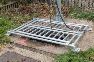 GridBlocker Pump Lifting Grid