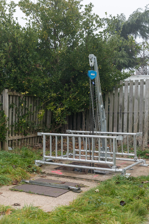 Pump Lifting Grid